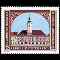 AUSTRIA 1991 - Scott# 1542 St.Polten City Set of 1 NH