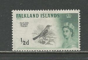 Falkland Islands Scott catalog # 128 Unused HR