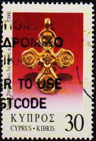 Cyprus. 2000 30c S.G.988 Fine Used