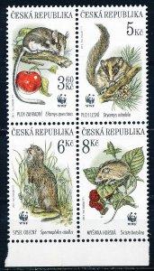 Czechoslovakia #2984 Block of 4 MNH