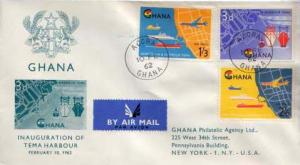 Ghana, Event, Ships, Aviation, Maps