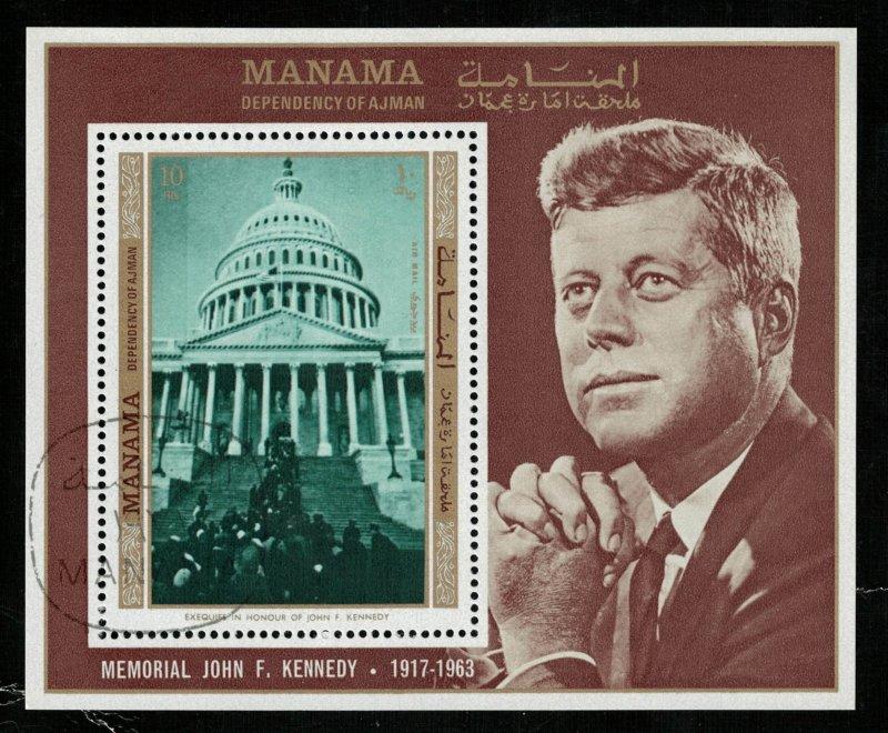 Presedent USA John Kennedy 1917-1963, Block, MNH ** (Т-5556)