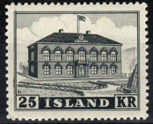 Iceland  #273 MNH CV $200.00  (X6996)
