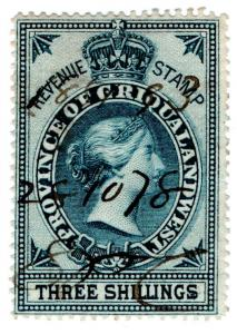 (I.B) Griqualand West Revenue : Duty Stamp 3/-