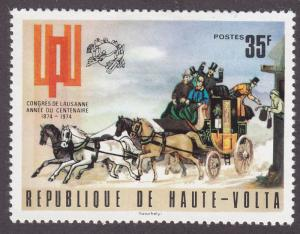 Burkina Faso 332 Universal Postal Union 1974