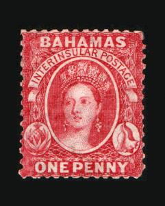 VINTAGE: BAHAMAS 1863 OG LH SCOTT #11 $140 LOT #9205