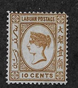LABUAN SC# 8  F/MNG 1880