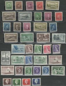 Canadian official stamps mint collection