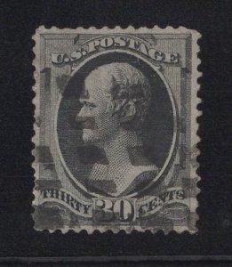US Stamp Scott #154 Used SCV $275