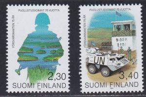 Finland # 914-915, Defense Forces, NH,1/2 Cat.