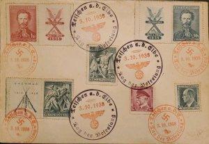 O) 1938 CZECHOSLOVAKIA, JINDRICH FUGNER, CO FOUNDER OF SOKOL MOVEMENT, LEGIONNA