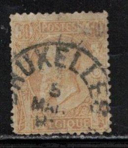 BELGIUM Scott # 58 Used - King Leopold II