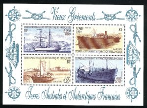 French Southern & Antarctic Territories 200   SS   Mint NH VF 2001 PD