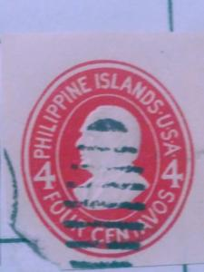 United States Phillipines Postal Stationary Used