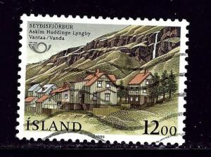 Iceland 625 Used 1986 issue
