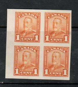 Canada #149b Extra Fine Mint Never Hinged Imperf Block