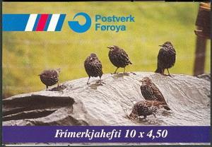 Faroe Islands #331a FaH12 Booklet MNH CV$12.50