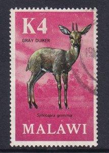 Malawi   #160  used  1971  antilopes  4k