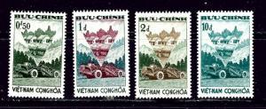 South Vietnam 181-84 MNH 1961 Agrarian Reform
