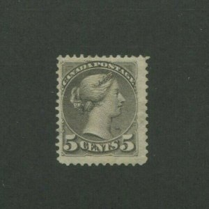 1888 Canada Postage Stamp #42 Mint Lightly Hinged F/VF Original Gum