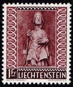 Liechtenstein Stamp 1959 Christmas MH/OG STAMP 1FR