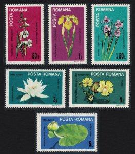Romania Flowers of the Danube 6v SG#4851-4856 MI#4035-4040