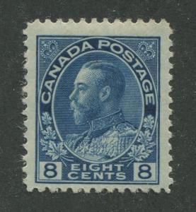 CANADA #115 MINT F/VF