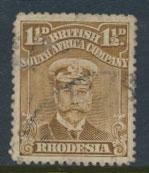 British South Africa Company / Rhodesia  SG 198 Used perf 14 see scans & details