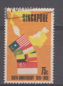 Singapore 1969 Founding of Singapore Scott # 103 Used