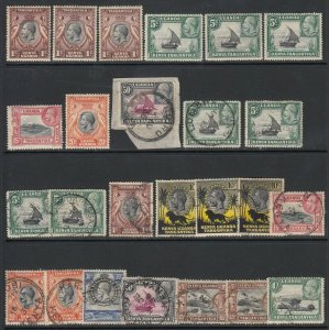 KUT, King George V Small Group (mint/used)
