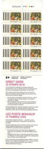 Canada - 1987 Chistmas Greet More Booklet VF-NH #BK95
