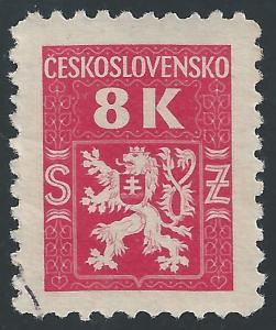 Czechoslovakia #O7 8k Coat of Arms