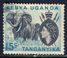 Kenya Uganda & Tanganyika; 1959: Sc. # 106: O/Used Single Stamp