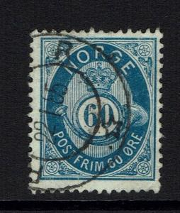 Norway SC# 58 - Used - 090515