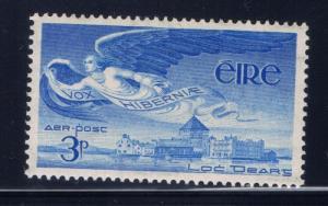 Ireland C2 Hinged 1948 airmail
