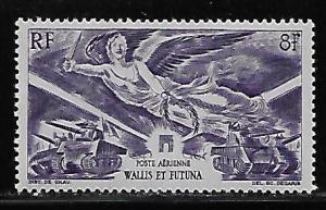 Wallis and Futuna Islands C1 WWII Victory single MNH