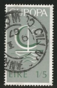 Ireland Scott 217 used Europa 1966 key stamp