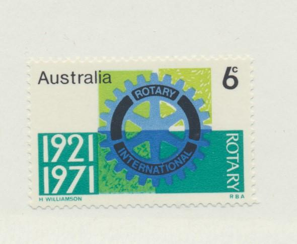 Australia Scott #498, Mint Never Hinged MNH, Rotary Convention Issue From 197...