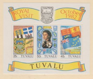 Tuvalu Scott #182a Stamps - Mint NH Souvenir Sheet