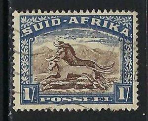 SOUTH AFRICA 43b VFU Z4700-2