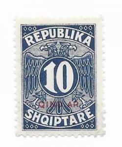 Albania #J31 MH - CAT VALUE $3.50