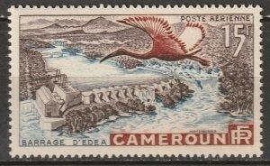 Cameroun 1953 Sc C31 Yt PA43 air post MNH** some toning