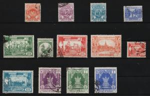 Burma 1954 Various Designs 13/14 USED