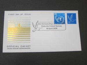 United Nations (NY) 2007 Sc 939 FDC
