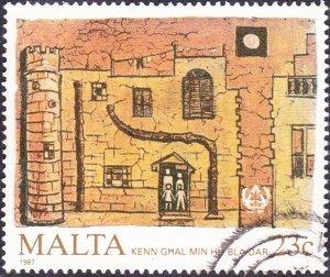 MALTA 1987 23c Multicoloured Anniversaries & Events SG808 FU