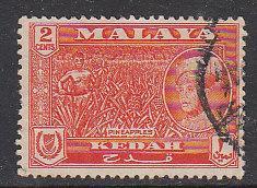 Malaya Kedah 1959 Sc 96 2c Used