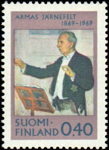 1969 Finland #485, Complete Set, Never Hinged