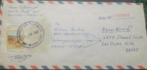 RO) 1992 PARAGUAY, AMERICA UPAEP, ARRIVAL OF SPANISH EXPLORES DOMINGO
