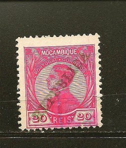 Mozambique 117 King Manoel Overprint Used
