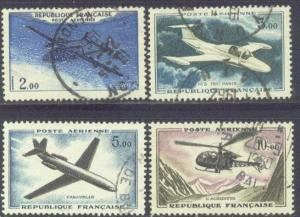 FRANCE C37-40 USED 1960 PLANES